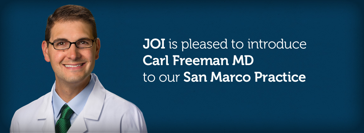 Carl Freeman, MD 				to our San Marco