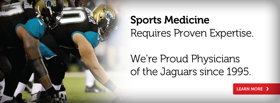 Team Physicians for the Jacksonville Jaguars