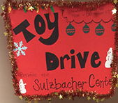 Fleming Island Rehab collected toys for the children at the Sulzbacher Center.