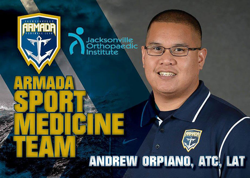 Jacksonville Armada FC Athletic Trainer