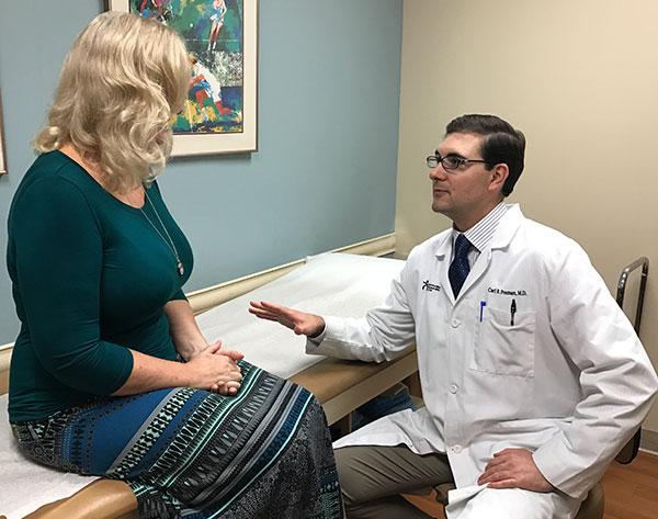 Minimally invasive hip Dr. Freeman