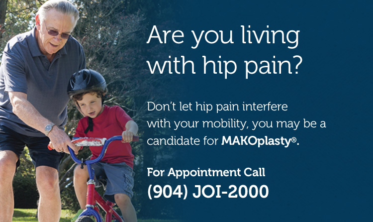 mako or makoplasty for hip pain Call JOI-2000