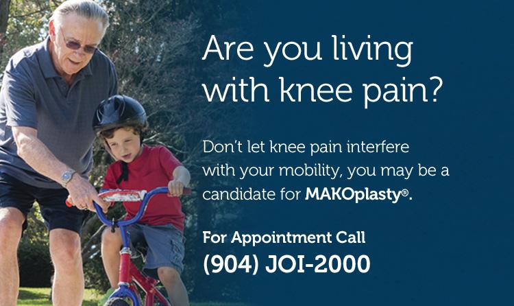 makoplasty knee for chronic knee pain