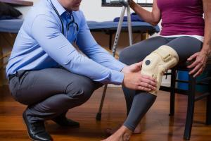 Physical therapy is a conservative way to address an injury without surgery.