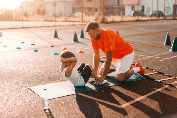 When Should a Child Start to Strength Train with Weights?