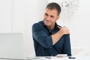 Joint pain can be treated by an orthopedic specialist or physical therapist.