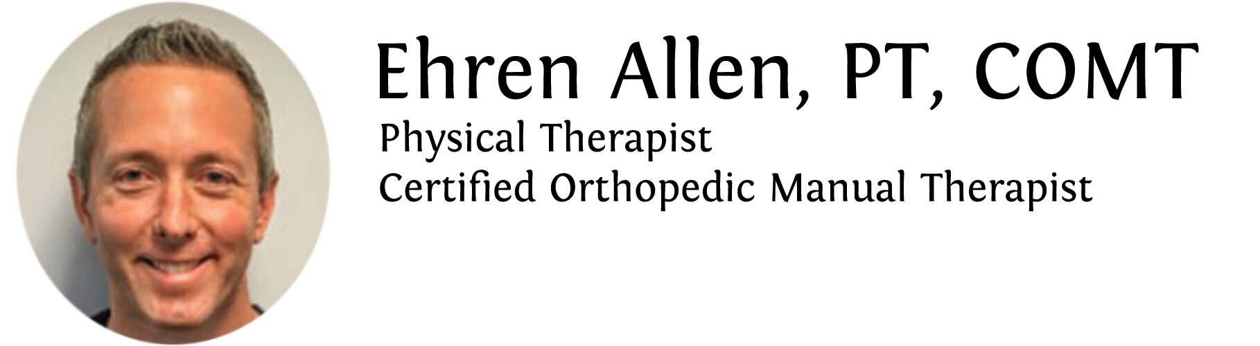 Ehren Allen, DPT, COMT